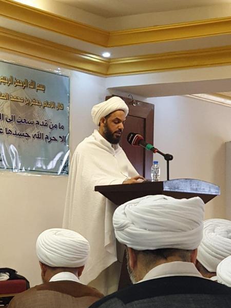 بعثة المرجع اليعقوبي تقيم صلاة الجمعة في مكة المكرمة