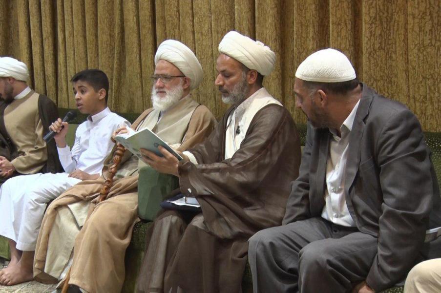 المرجع اليعقوبي يدعو الى نشر ثقافة حفظ وتلاوة القرآن الكريم وتوظيف المفاهيم في تنظيم شؤون الحياة